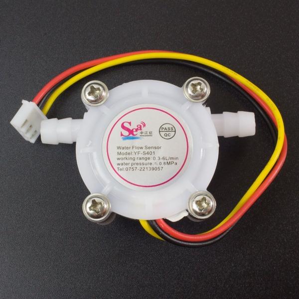 Sensor Medidor de Flujo G1/4