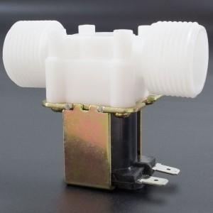 Electroválvula de Plástico 12V 1/2''