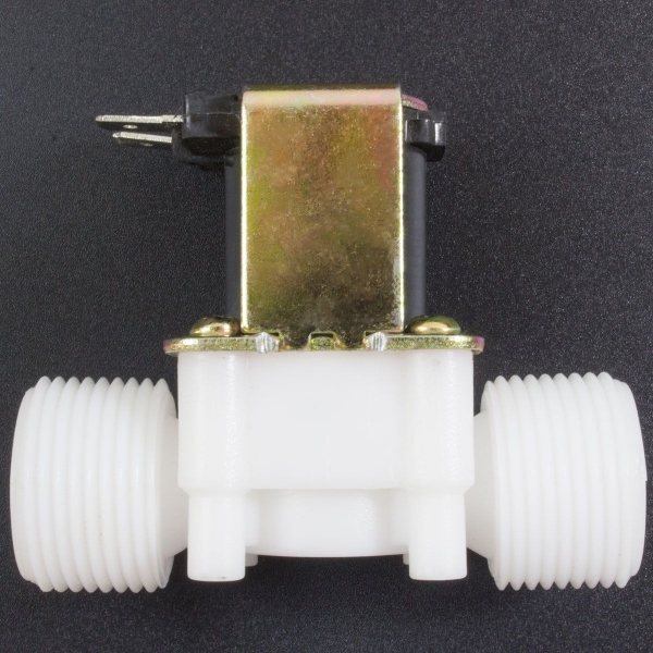 Electroválvula de Plástico 12V 3/4'' Sin Presión