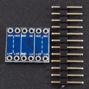 Modulo Conversor De Nivel Logico De 5v A 3.3V / 3.3v A 5v Genérico - 2