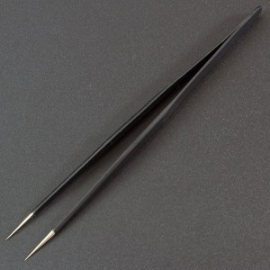 Pinza Antiestática TS-12 ESD HRC30º Genérico - 2