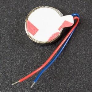 Micro Motor Vibrador Redondo 1027 Genérico - 2