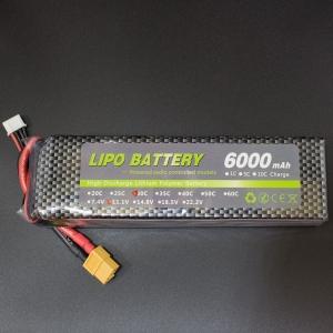 Bateria Lipo 6000mAh 30C 11.1V
