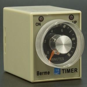 Temporizador AH3-3 10 Minutos 110VAC Genérico - 2