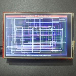 Pantalla LCD TFT Táctil 3.95 Inch Para Arduino Genérico - 2