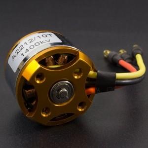 Motor eléctrico Brushless A2212 / 1400 KV 10T