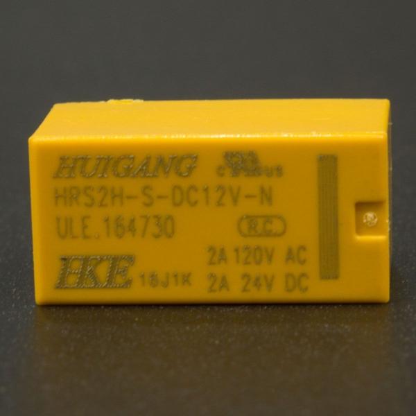 Relé 2A HRS2H-S 12V DC