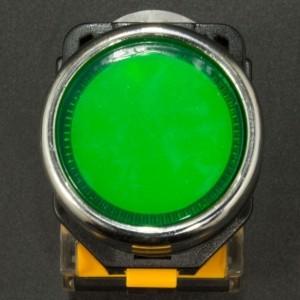 Interruptor Pulsador Normalmente Abierto 22mm LA38-11BN Verde Genérico - 2