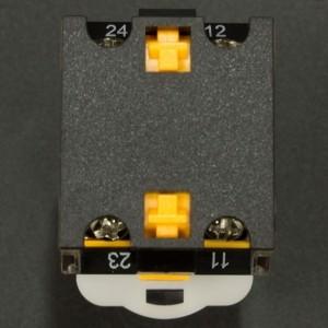 Interruptor Pulsador Normalmente Abierto 22mm LA38-11BN Verde Genérico - 5
