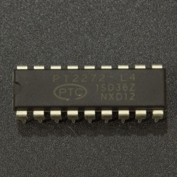 Decodificador de control remoto PT2272-L4 Genérico - 1