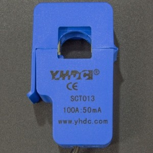 Sensor de Corriente No Invasivo SCT013 de 100A Genérico - 3