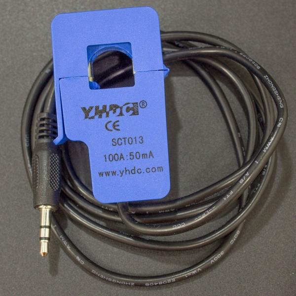 Sensor de Corriente No Invasivo SCT013 de 100A