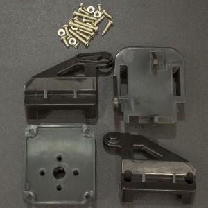 Soporte Plástico Para Cámara (No incluye Sevomotores)