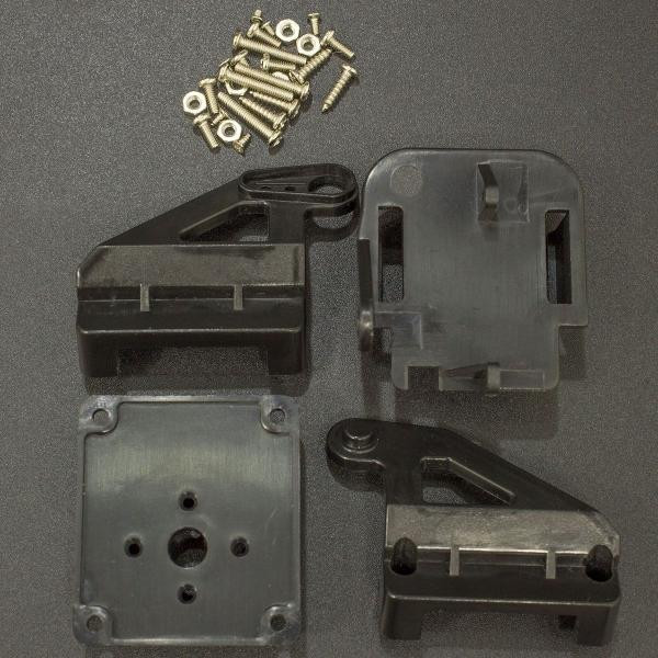 Soporte Plástico Para Cámara (No incluye Servomotores) Genérico - 3