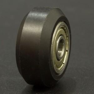 Polea de Plástico Negra 625 zz