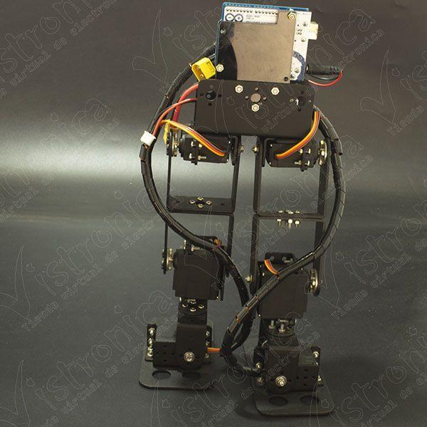 Robot bipedo dof desarmado vistronica sas