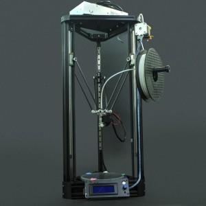 Impresora 3D Kossel + Filamento (Desarmada)