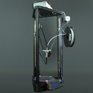 Impresora 3D Kossel + Filamento (Desarmada)  Genérico - 5