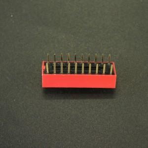 DIP Switch de 10P Rojo Genérico - 2