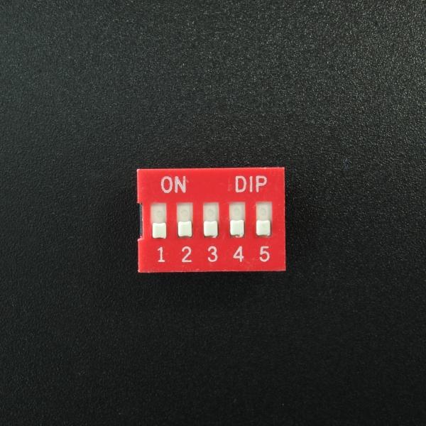 DIP Switch de 5P Rojo Genérico - 2