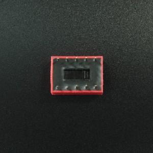 DIP Switch de 5P Rojo Genérico - 3