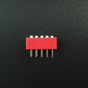 DIP Switch de 5P Rojo Genérico - 4