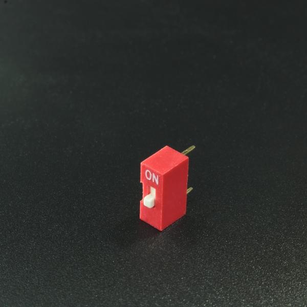 DIP Switch de 1P Rojo Genérico - 1