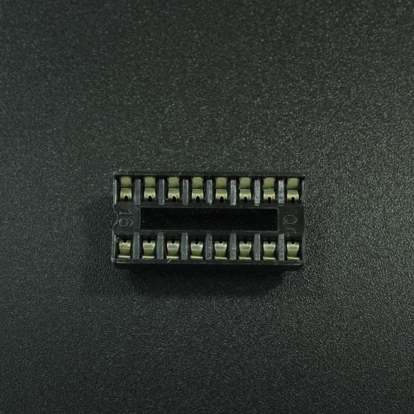 Base De 16P 2x8 Para IC DIP Genérico - 1