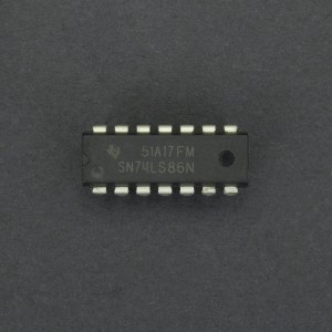 Compuerta Lógica XOR 74LS86