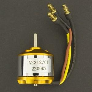Motor eléctrico Brushless A2212/2200Kv 6T Genérico - 4