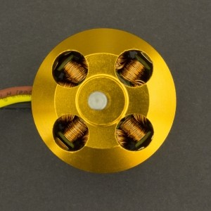Motor eléctrico Brushless A2212/1000Kv 13T Genérico - 3