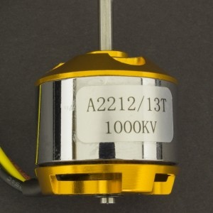 Motor eléctrico Brushless A2212/1000Kv 13T Genérico - 4