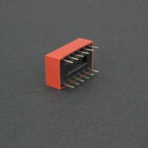 DIP Switch de 6P Rojo Genérico - 2