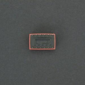 DIP Switch de 6P Rojo Genérico - 4