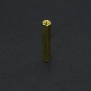Separador de Bronce M3x30 mm Genérico - 2