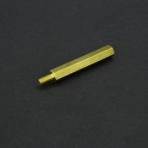 Separador de Bronce M3x30+6 mm Genérico - 3