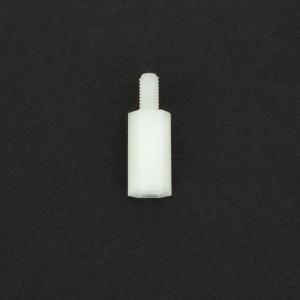 Separador de Nylon M3x12+6 mm Genérico - 3