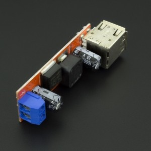 Conversor DC-DC Tipo Buck LM2596 Doble USB 5V Genérico - 4