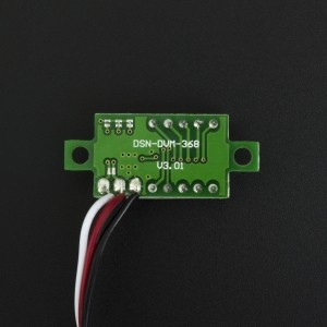 Mini Voltímetro 7 SEG Verde 0V~30V