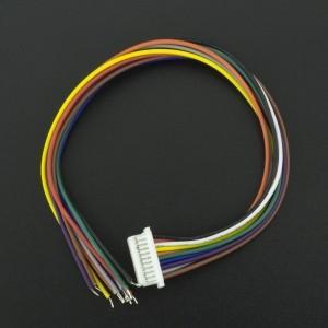 CABLE CONECTOR MICRO JST 1 MM HEMBRA DE 10P Genérico - 3