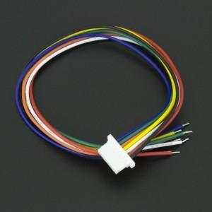 CABLE CONECTOR MICRO JST 1 MM HEMBRA DE 7P Genérico - 1