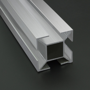 Perfil De Aluminio Estrella Para Sistema 35x35 mm 1 Metro