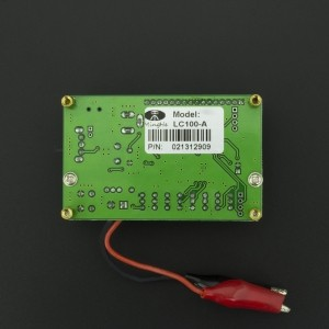 Medidor LC de Inductancia y Capacitancia LC100-A Genérico - 2