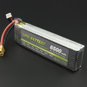 Batería Lipo 11.1V 6500mAh 25C Genérico - 3