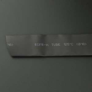 Tubo Termoencogible Negro 18 mm 1 Metro Genérico - 1
